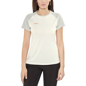 Bergans Slingsby T-paita Naiset, white/alu/pumpkin